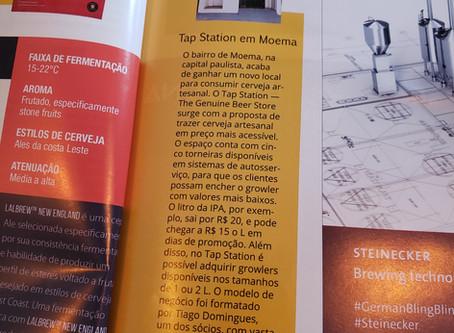 Tap Station na Revista da Cerveja
