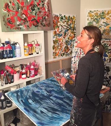 artiste peintre Aude de Voc