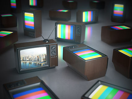 pile-of-vintage-tv-with-one-in-standby-t