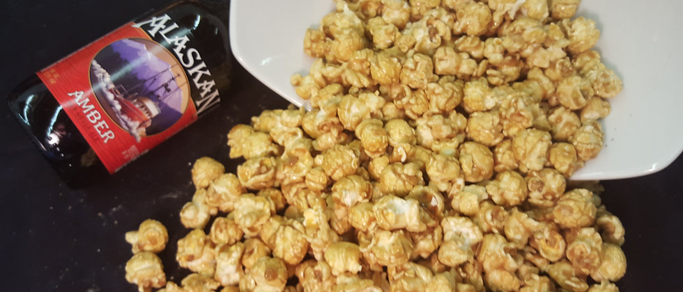 Alaskan Amber Beer & Sea Salt Popcorn