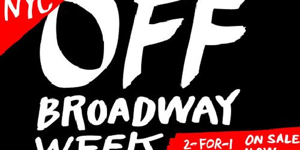 NYC Off Broadway Week