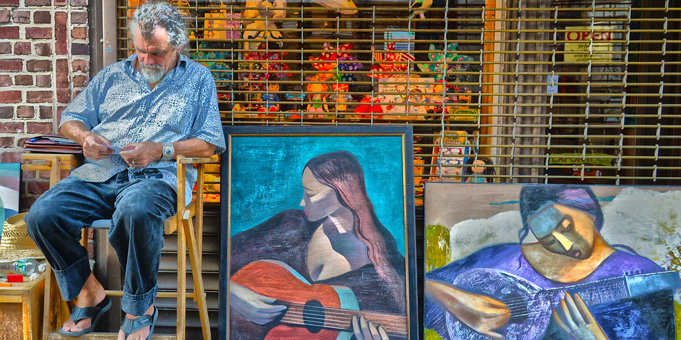 Feira de Arte no Washington Square