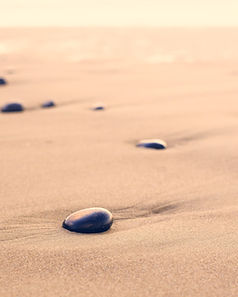 Pebbles on the Sand