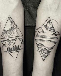 Scenic-Linework-Forearm-Tattoos
