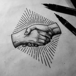 f44e9daa5d0ff7f5c1f846a818e02b21--etching-tattoo-black-white-art