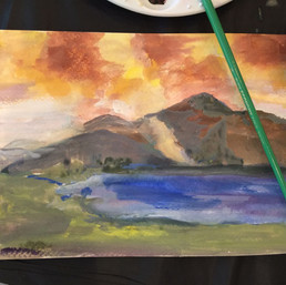 painting with gouache workshop