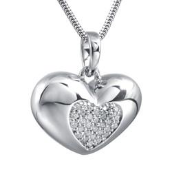 Heart ash pendant