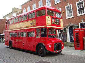LONDON BUS HEARSE
