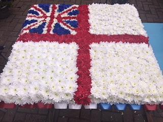 RAF FLAG CUSHION