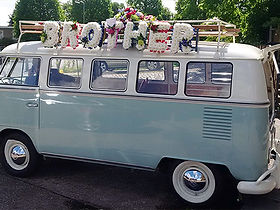 VW CAMPERVAN HEARSE