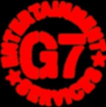 G7entertainmentservices logo , G7 , entertainment , services , crewing, uk
