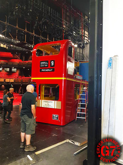 SUMMER HOLIDAY bus and stage build