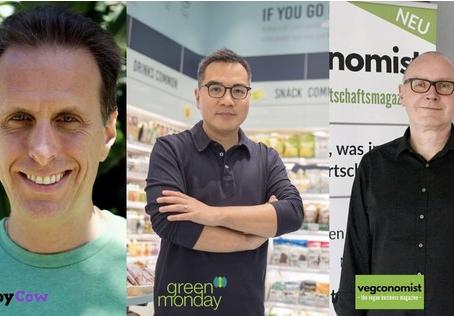日本初独占インタビュー!世界のプラントベース業界のトップ HappyCow / Green Monday / vegconomist から日本へのメッセージ