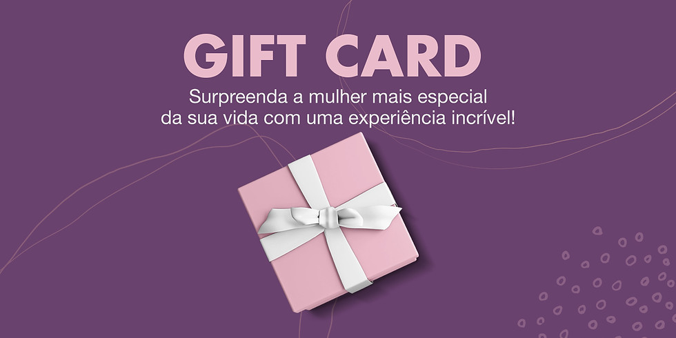 GIFT CARD - FAST STYLE PRESENCIAL MÃE
