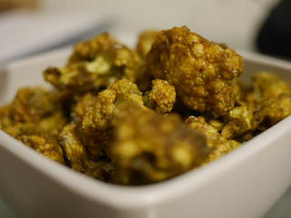 Raw vegan Cauliflower chicken bites!