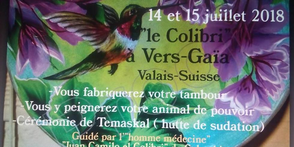 """""""Le Colibri"""" à Vers-Gaïa"""