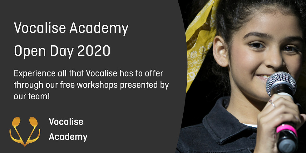 Vocalise Open Day Thirlmere 2020
