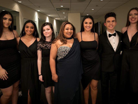 #TeamVocalise in the spotlight at the Kids of Macarthur Foundation's Annual Charity Ball.