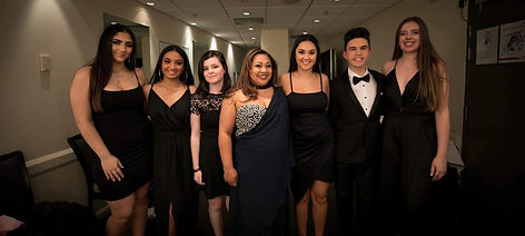 performing arts, macarthur, students, vocalise academy ambassadors at annual charity ball in macarthur