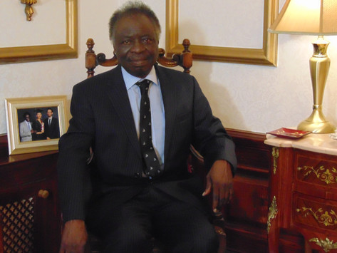 The story of Dr Titus Odedun -Blood on the floor