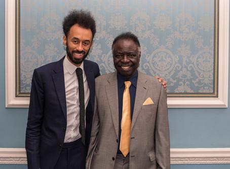 Dr Odedun celebrates son's Accreditation