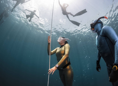Safety In Your Freediving Training Sessions