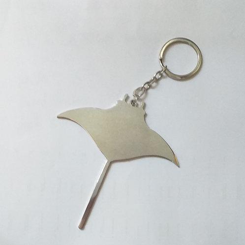 Manta Ray key chain