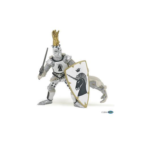 Figurine Maître des armes cimier licorne Papo
