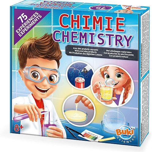 75 expériences de chimie Buky