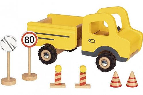 Camion de chantier en bois Goki