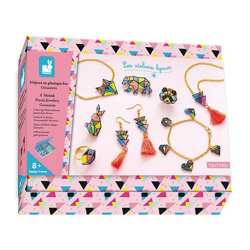 kit créatif plastique fou bijoux Janod