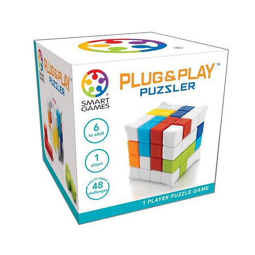 Plug and play puzzler Smart games
