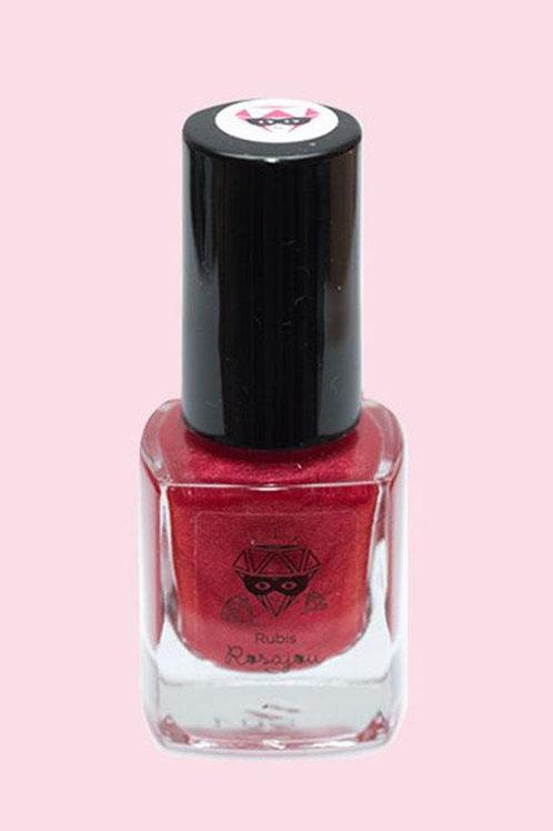 Vernis à ongles rubis Rosajou