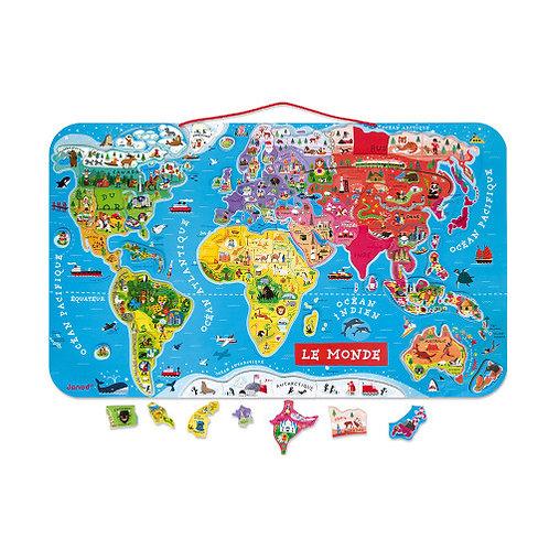 Carte du monde Janod