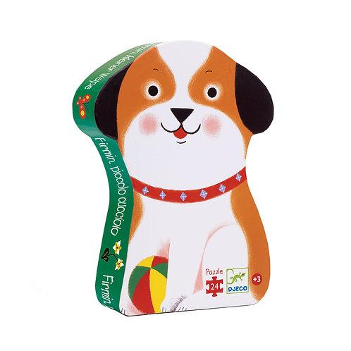 Puzzle Firmin le petit chien 24 pcs Djeco
