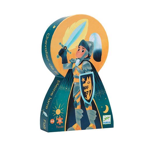 Puzzle chevalier de la pleine lune 36 pcs Djeco