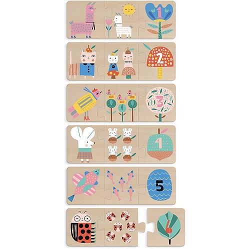 Puzzles trio maman bébé Suzy Ultman Vilac