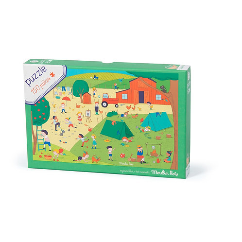 Puzzle A la campagne 150 pièces Moulin Roty