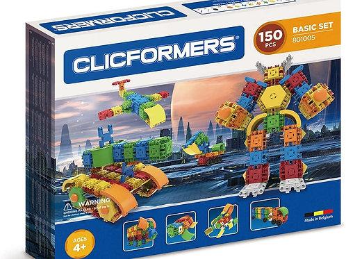 Clicformers basic set 150 pièces