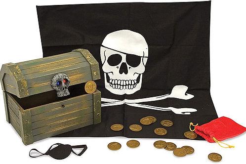 Coffre de pirate en bois Melissa and doug