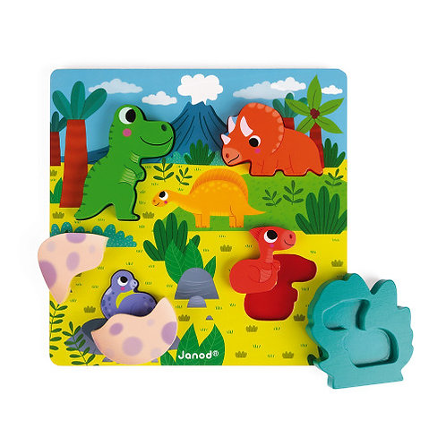 Puzzle cache cache dino Janod