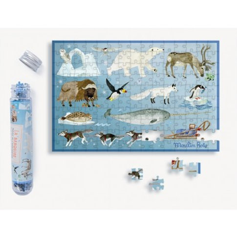 Mini puzzle la banquise 150 pcs Moulin Roty