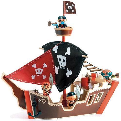 Bateau pirate Arty Toys Djeco