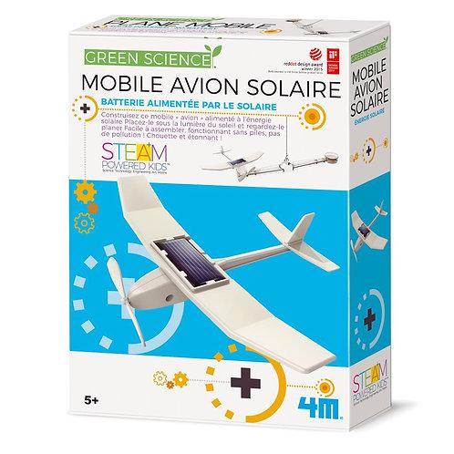 Mobile avion solaire 4 M