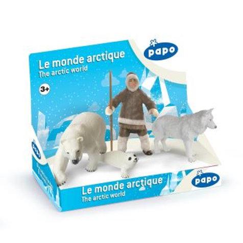 Coffret le monde arctique Papo