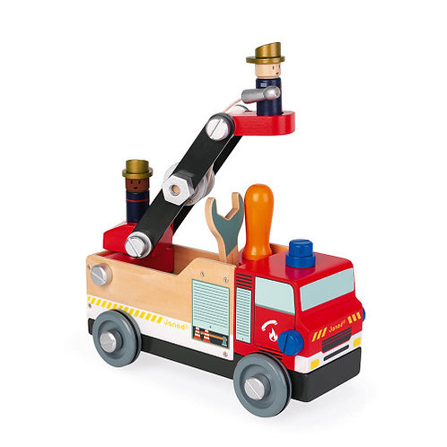 Camion de pompiers bricokids Janod