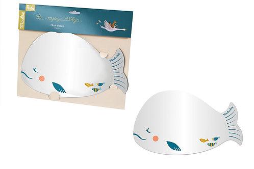 Miroir baleine Le voyage d'Olga Moulin Roty