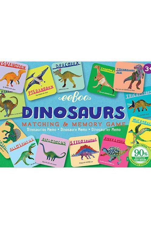 Petit memory dinosaures Eeboo