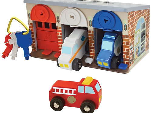 Garage secours Melissa and doug