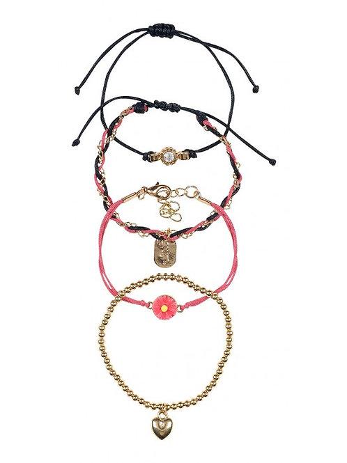 Set de 4 bracelets Souza
